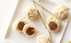 Grape Truffles - A savoury twist on truffles.