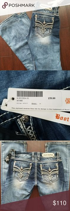 Rock Revival Jeans Brand new with tags Rock Revival Jeans size 31. Gorgeous jeans... Rock Revival Jeans