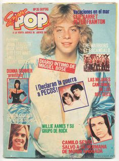 02 Leif-Garret Comics Vintage, Retro Vintage, Leif Garrett, Nostalgia, Vintage Paper Dolls, Tv Guide, Indie Music, Cultura Pop, Sweet Memories