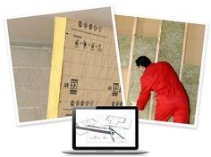 sticker de porte alpage castorama chalet pinterest - Isolation Mur Interieur Leroy Merlin