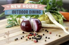 The patio is now open for outdoor dining at Hearty Kitchen in West Hartford, CT. Plus, extended hours!