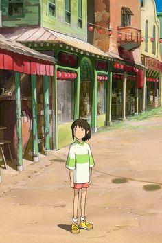 """Chihiro in Hayao Miyazaki's """"Spirited Away"""" (2001)"""