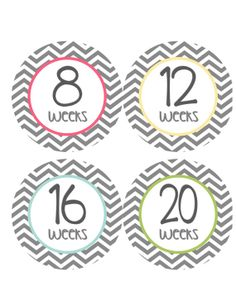 Pregnancy Stickers Week Baby Bump Stickers by getthepartystarted, $10.00 more at  http://www.etsy.com/shop/getthepartystarted?section_id=6771147
