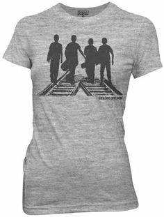 Juniors T-Shirt - Stand By Me - Silhouettes Ripple