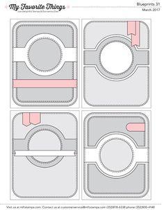 Blueprints 31 card sketches