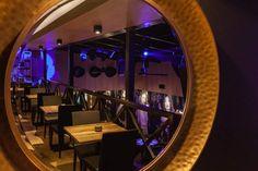 #JazzClub#Kosice#pub#restaurant#InteriorDesign#InteriorDesignByOdette Jazz Club, Restaurant, Interior Design, Mirror, Furniture, Home Decor, Nest Design, Decoration Home, Home Interior Design