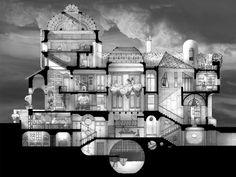 Galeria - Arte e Arquitetura: desenhos arquitetônicos que evidenciam o espaço do Eixo Z - 1