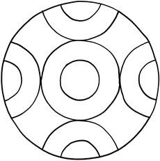 Mandalas zum Ausdrucken und Ausmalen 15 für Kinder