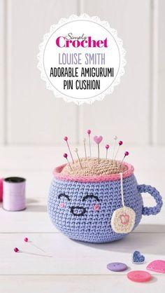 Mesmerizing Crochet an Amigurumi Rabbit Ideas. Lovely Crochet an Amigurumi Rabbit Ideas. Simply Crochet, Quick Crochet, Cute Crochet, Crochet Baby, Crochet Summer, Crochet Cupcake, Crochet Pincushion, Crochet Patterns Amigurumi, Crochet Toys
