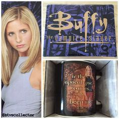 Buffy the Vampire Slayer Boxed Mug #btvscollector #btvs #buffy…