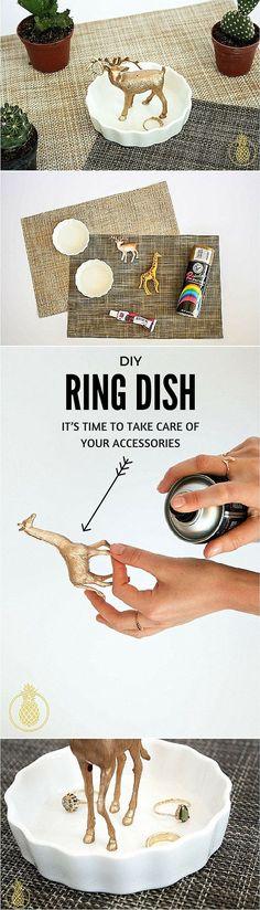 Accessories easy ring dish   DIY & Crafts   DIY project   easy DIY