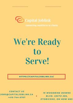 Capital job links connects talented experts and leading employers at some stage in the Greater Toronto Area and throughout Canada. As a regionally owned and operated recruitment firm, we have the capability to rapidly reply to exchange and unravel issues, and grant candidates with amazing job possibilities and purchasers with great employees.