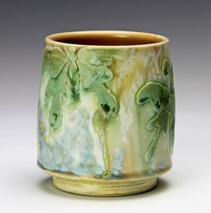 Butterfly Cup by Samantha Henneke, Bulldog Pottery, Seagrove, North Carolina, Around and About with Bulldog Pottery: Song Writers on Song Writing