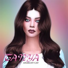 Anarchy-Cat: Tanya Miller • Sims 4 Downloads