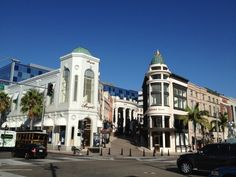 Touristy and expensive, but fun for people watching. Most of the leading brands are to be found in this area around Rodeo Drive.