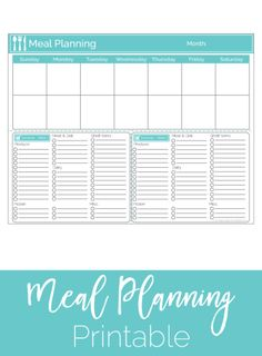 Before I discovered meal planning, my grocery shopping and dinner cooking routines were all messed up. Each week I would go to the store with somewhat of a list and would buy whatever I thought we might need. Throughout the week, I would struggle to think of dinner ideas and inevitably I would always be...