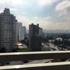 Vista da varanda do quarto Hotel Radisson Faria Lima