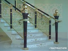 stainless steel handrails Staircase Railings, Stairs, Stainless Steel Handrail, Lazer Cut, Railing Design, Iron Work, Ladders, Wrought Iron, Metal Working