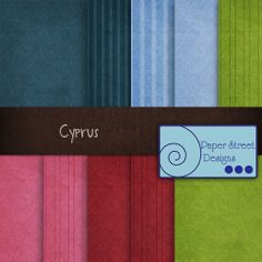 Cyprus  - Free Digital Papers from Paper Street Designs