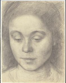 Portrait of Ida, the Artist's Wife, 1898 on SMK – National Gallery of Denmark in Copenhagen (Statens Museum for Kunst) Fondation Louis Vuitton, Rembrandt, Matisse, James Abbott Mcneill Whistler, National Gallery, Google Art Project, Pencil Painting, Figure Painting, Edgar Degas