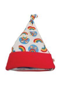 Frugi - Organic Cotton - Lovely Knotted Hat - Rainbow Owl - Baby Gift Works  - e2dc069e3d07