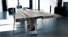 Plank conference table. Plankebord, spisebord, mødebord.