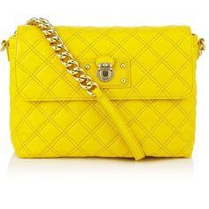 MARC JACOBS Single Shoulder Bag (Large) ($740) ❤ liked on Polyvore featuring bags, handbags, shoulder bags, purses, bolsas, bolsos, women, genuine leather purse, leather handbags en hand bags