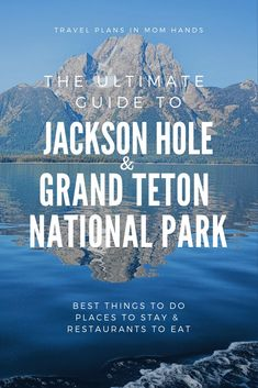 Our ultimate Jackson Hole guide including Grand Teton National Park is out! From restaurants to things to do to where to stay, we've covered this popular destination (2.6 million annually). Whitewater rafting, glamping, dude ranches, waffles at 10,000 feet and moose sightings all make the grade. Sharing our picks for top Jackson Hole and the Grand Teton National Park experiences. #JacksonHole #hosted #GrandTetonNationalPark #grandtetons #nationalpark #findyourpark