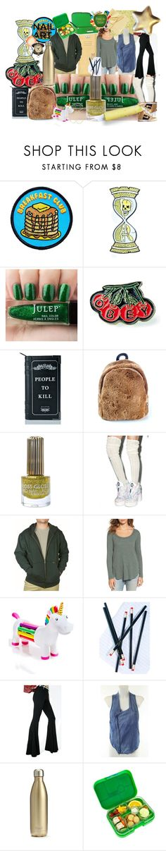 """""""Olden School Daze"""" by lerp ❤ liked on Polyvore featuring beauty, Goblinko Megamall, NoHours, OBEY Clothing, Killstar, Floss Gloss, Stanley Furniture, Hinge, NPW and SugarLuxeShop"""