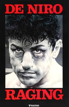 """Film: Raging Bull (1980) Year poster printed: 1980 Country: USA Size: 27"""" x 41"""" Artist: Kunio Hagio This is an original, unfolded one-sheet movie poster from 1980 for Raging Bull starring Robert De Ni"""