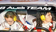 Michele Mouton And Fabrizia Pons - The Most Successful Female World Rally Championship Pair (wrc Championship Runner-up In Driving Groupb Audi Quattro). Rally Drivers, Women Drivers, Rally Car, Female Race Car Driver, Car And Driver, Audi Quattro, Audi Sport, Badass Women, World Championship