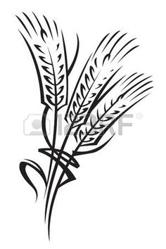 (Lesson 5) Print out wheat, cut out and place all over the