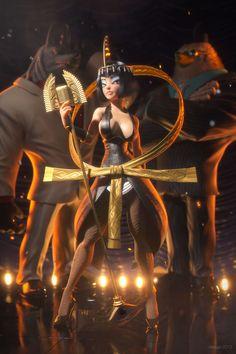 Eliza, the goddess diva by Victor Hugo Queiroz 940px X 1410px