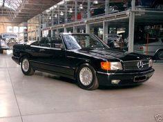 Mercedes-Benz 500 SEC W126C Cabrio von SGS TOP ZUSTAND !!! als Cabrio/Roadster in Stuttgart Mercedes Benz, S Class, Garage, Classic, Autos, Cutaway, Convertible, Stuttgart, Carport Garage