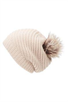 Luxe Pom Pom Beanie Hats For Women, Winter Hats, Beanie, My Style, Fashion, Moda, Fashion Styles, Beanies, Fasion