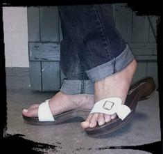 Birkenstock, Flip Flops, Sandals, Men, Shoes, Fashion, Wooden Clogs, Moda, Shoes Sandals