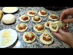 ميني بطبوط معمر بحشوة لذيييذ جدااا باسهل طريقة لا ختصار الوقت والمجهود - YouTube Mozzarella, Ramadan, Mashed Potatoes, Bread, Cake, Ethnic Recipes, Caftans, Food, Mini