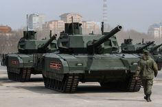 Russia's First New Tank in Decades Set to Enter Service in 2020