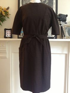 Vintage 1960s wool dress / 1960s dress / 1960s by JDoraVintage, £65.00