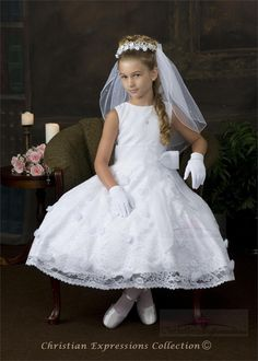 First Communion Dresses-Style 8015