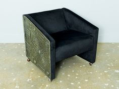 Adrian Pearsall Brutalist Style Armchair | Seating Collection | Lynn Goode  Vintage | Furniture + Decorative