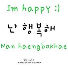 I am happy More