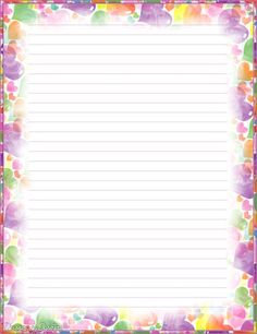 My printable stationary Creations 2 - Sophia Designs PenPal Stationery Printable Lined Paper, Free Printable Stationery, Cute Stationery, Stationery Paper, Paper Journal, Lined Writing Paper, Writing Papers, Ruled Paper, Framed Wallpaper
