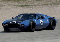 1970 DeTomaso Mangusta Vintage Race Car For Sale Front