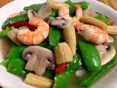 Try this simple yet so good and healthy shrimp recipe. You can also add other veggies and seafood your tummy desires.        Ingredients:  ...