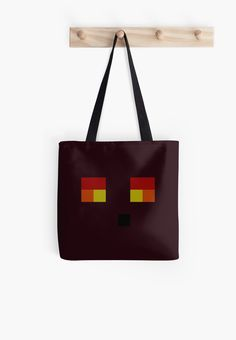 Simple Magma Cube Face - Minecraft
