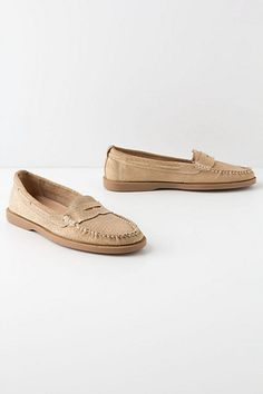 So comfy! Great to wear to work. Aunt Ruth Loafers - Anthropologie.com