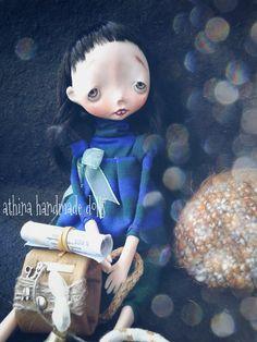 Ema the traveller by athinahandmadedolls on Etsy