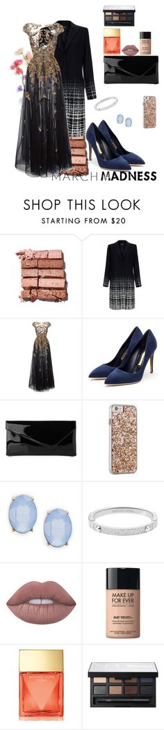 """""""promedance"""" by creativeonce ❤ liked on Polyvore featuring Bobbi Brown Cosmetics, Raoul, Zuhair Murad, Rupert Sanderson, L.K.Bennett, Case-Mate, Cara, Michael Kors, Lime Crime and MAKE UP FOR EVER"""