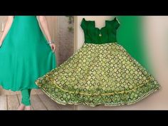 Umbrella cut churidar cutting and stitching in tamil class stitching class - Learn How to stitch Umbrella Cut Chudidar in easy way to stitch silk dress and netted cloth from Tailotech Channel Tailoring Classes. Tailoring Classes, Umbrella Skirt, Blouse Tutorial, Kids Umbrellas, Kids Frocks, Girls Dresses, Baby Dresses, Saree Blouse Designs, Baby Wearing